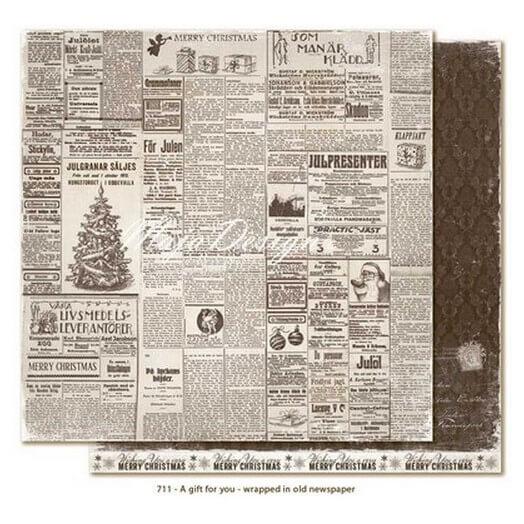 Χαρτί Scrapbooking Maja Collection, A gift for you, διπλής όψης
