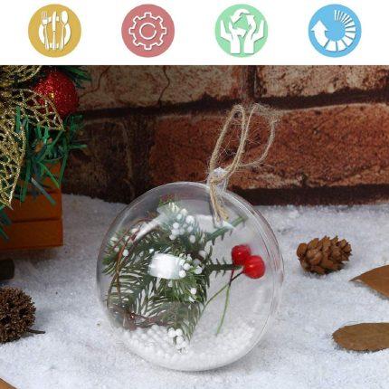 Μπάλα διαφανής Plexiglass Ø10cm