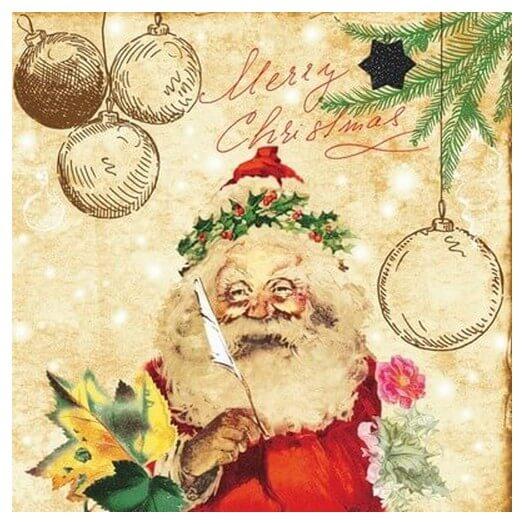 Χαρτοπετσέτα για Decoupage Χριστουγεννιάτικη , 1τεμ