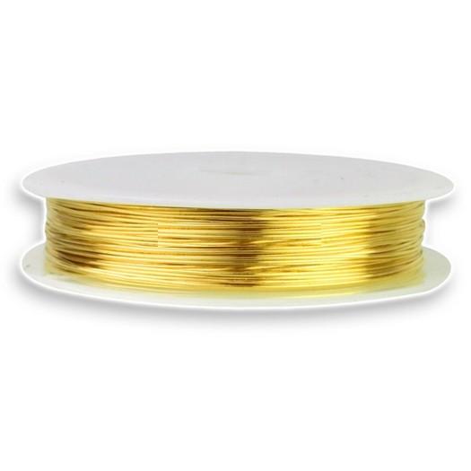 Συρματάκι χρυσό 0,3cm x 18m