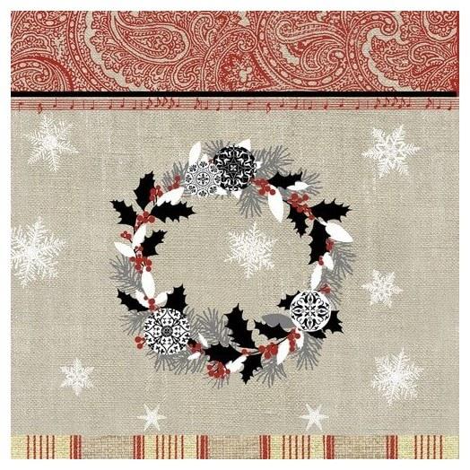 Χαρτοπετσέτα για Decoupage Joyeux Noel, 1 τεμ
