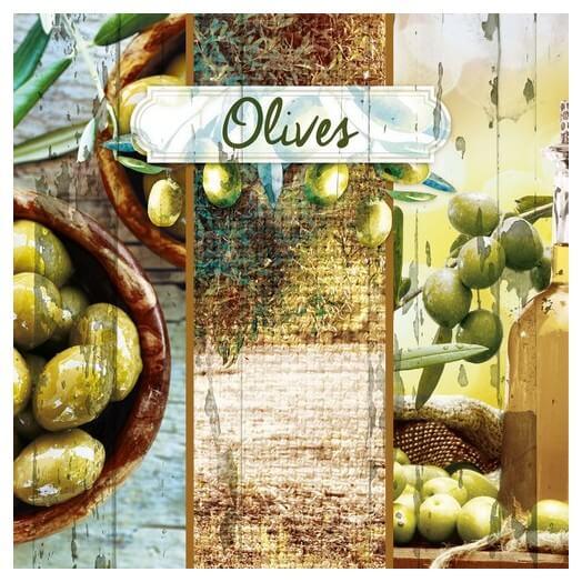 Χαρτοπετσέτα για Decoupage, Olive Garden, 1τεμ
