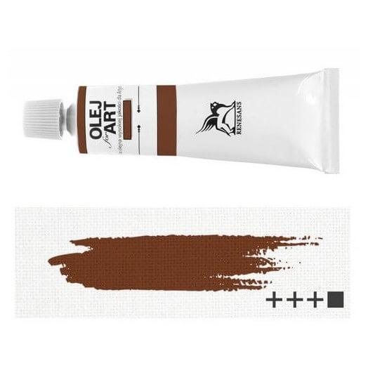 Λάδι ζωγραφικής Renesans 20ml - Mars Brown