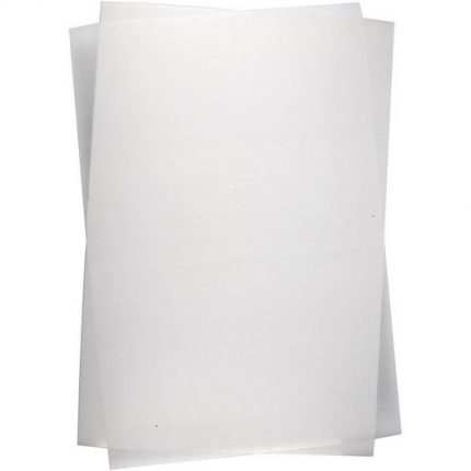 Shrink Plastic Sheets -Διάφανης ματ ζελατίνη 20x30 cm – 5τεμ
