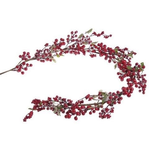 Γιρλάντα με red berries, 170cm