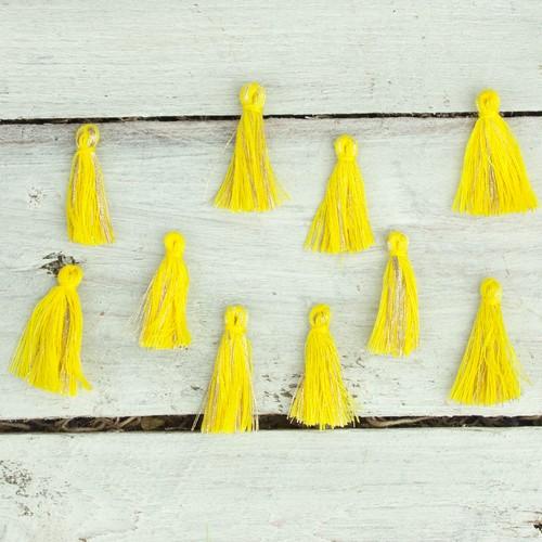 Φουντάκια, 20 τμχ, yellow