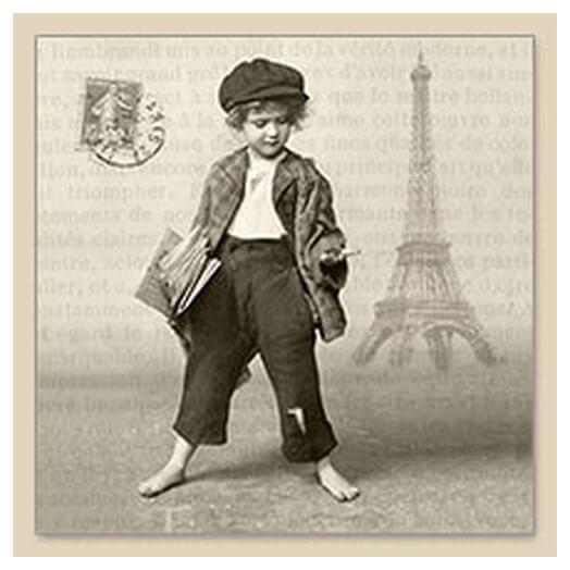 Χαρτοπετσέτα για Decoupage Vintage,1 τεμ.