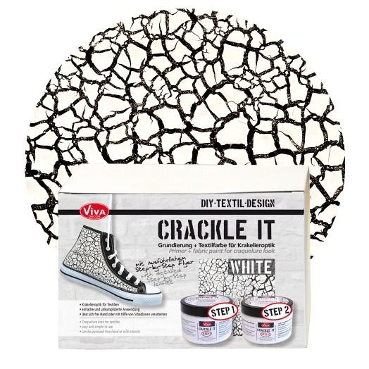 Crackle it, Set, White, Viva Décor