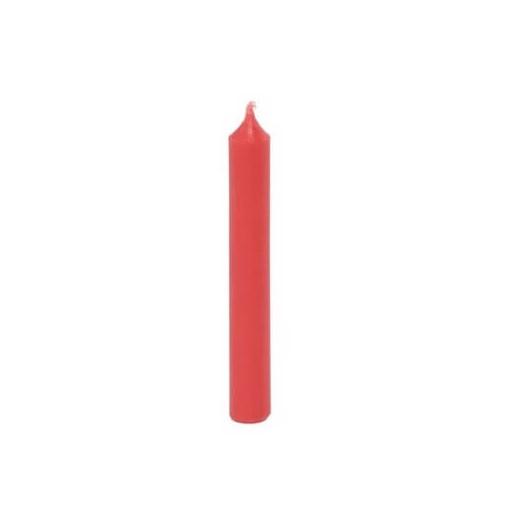 Κεράκια κόκκινα, 13xΥ96mm, σετ 20 τεμ.