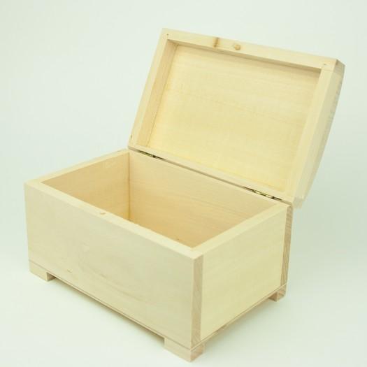 Μπιζουτιέρα ξύλινη 18x12x10cm