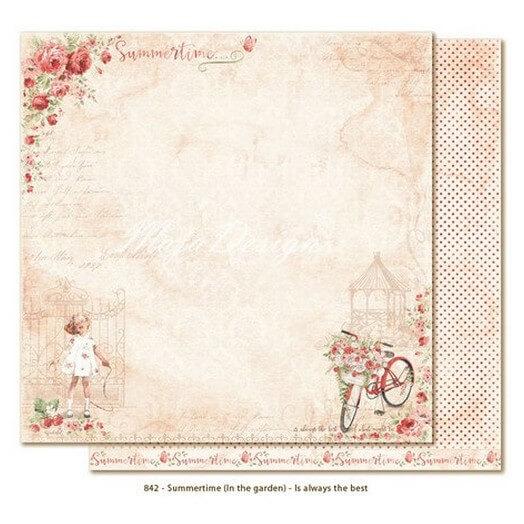 Χαρτί Scrapbooking Maja Collection Summertime, διπλής όψης