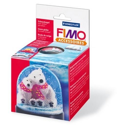 Πλαστική Χιονόμπαλα Φ90mm h75mm