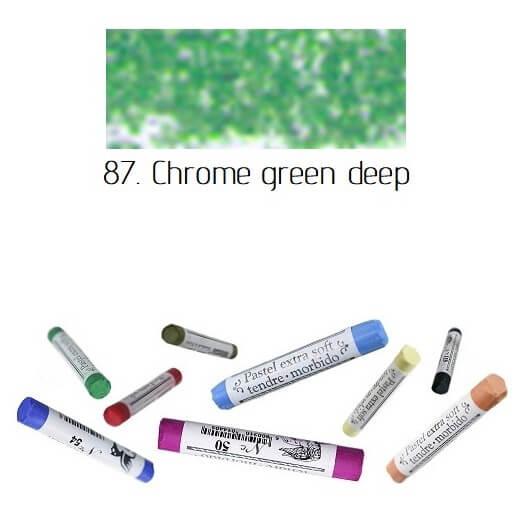 Soft Pastel Extrafine Renesans - Chrome Green Deep