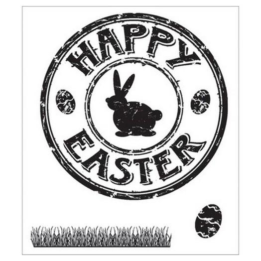 Σφραγίδα 5-7cm ,Happy Easter