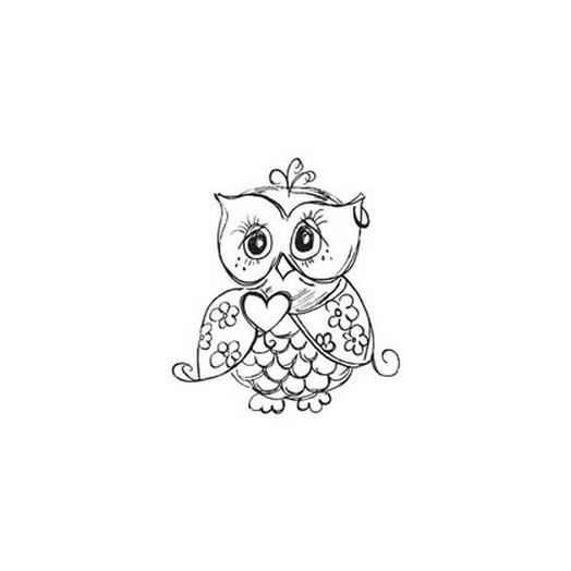 Σφραγίδα 6-8cm ,OWL