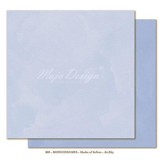Χαρτί Scrapbooking Maja Collection, Monochromes- Air/Sky, διπλής όψης