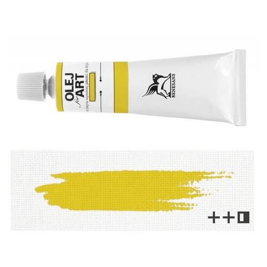 Λάδι ζωγραφικής Renesans 20ml - Cadmium Yellow Pale