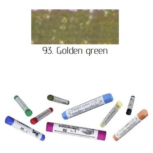 Soft pastel Extrafine Renesans - Golden green