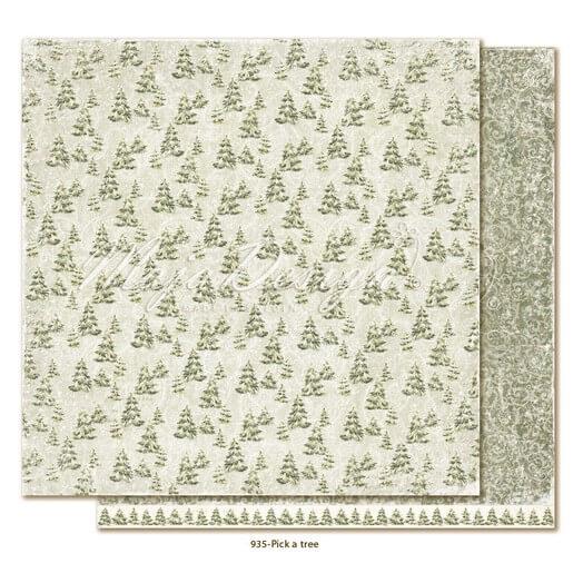 Χαρτί Scrapbooking Maja Collection διπλής όψης, Joyous Winterdays - Pick a tree