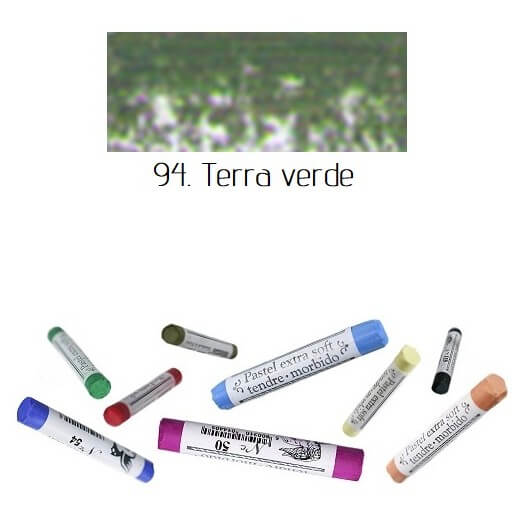 Soft Pastel Extrafine Renesans - Terra Verde