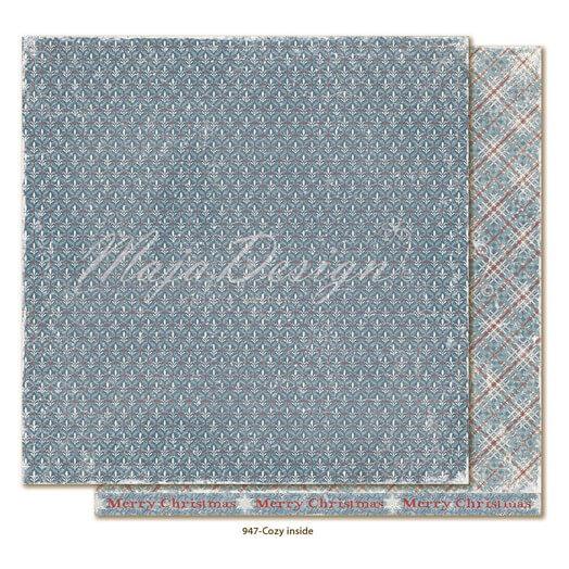 Χαρτί Scrapbooking Maja Collection διπλής όψης, Joyous Winterdays - Cozy inside