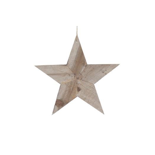 Ξύλινο αστέρι, 25cm