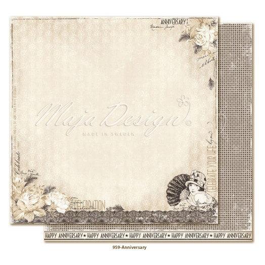 Χαρτί Scrapbooking Maja Collection διπλής όψης, Celebration - Anniversary