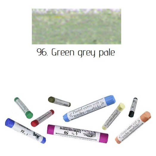 Soft Pastel Extrafine Renesans - Green Grey Pale