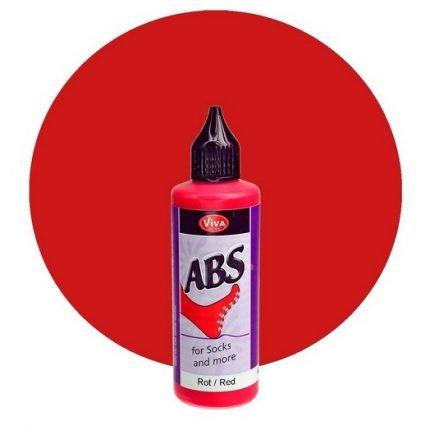 ABS for Socks and more 82 ml - Red