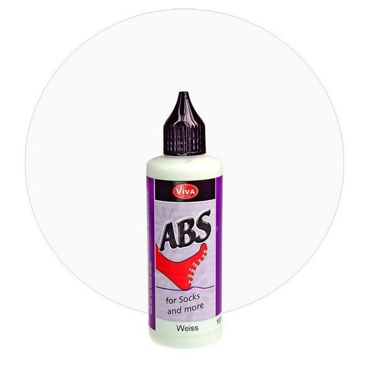 ABS for Socks and more 82 ml - White