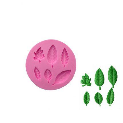 Καλούπι σιλικόνης, Leaves 98x12mm