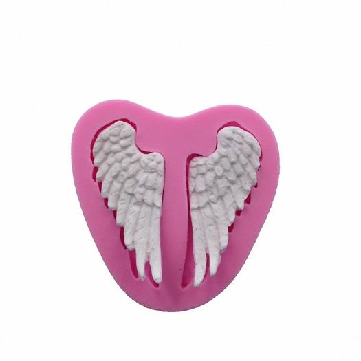 Καλούπι σιλικόνης, Angel wings 75x70x8mm