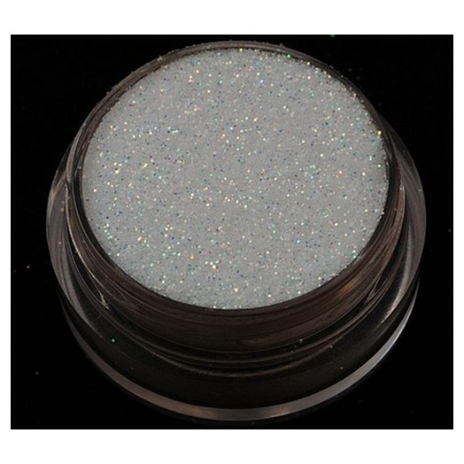 Χρυσόσκονη - Glitter 40ml, White Ιριδίζον