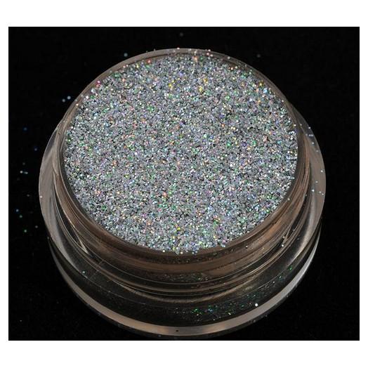 Glitter ιριδίζον 40ml, Silver
