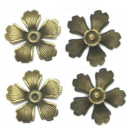 Antique Bronze Metal Decor 35mm - σετ 10 τεμ.