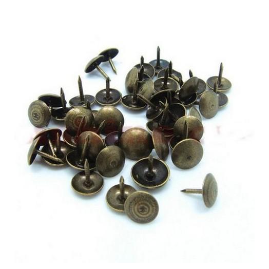 Καρφιά μεταλλικά Bronze 9mm - σετ 15 τεμ