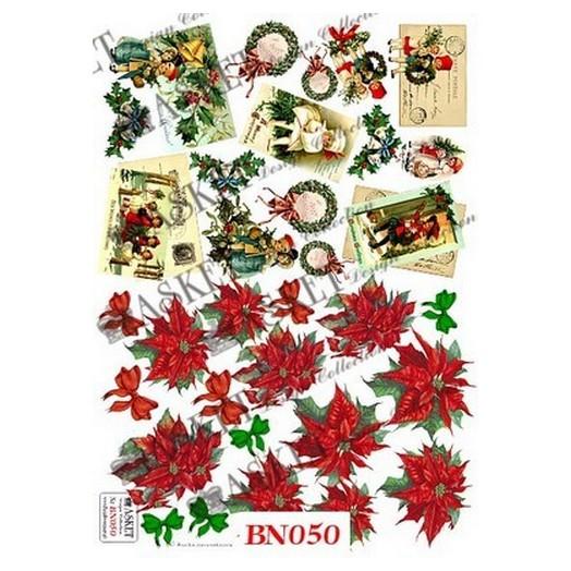 Χαρτί Decoupage Asket 30x40cm ,Christmas