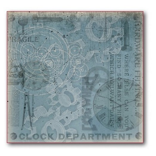 Polyester Felt φύλλο 30x30cm, Stamperia
