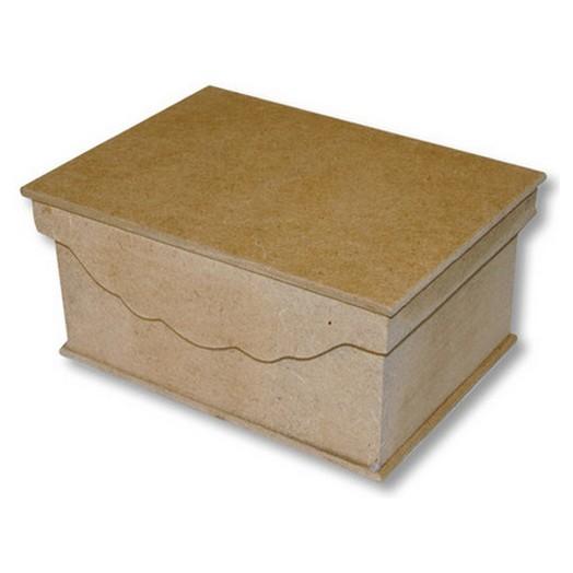 Κουτί mdf 19,9x14,9x9,4 h. ,Stamperia