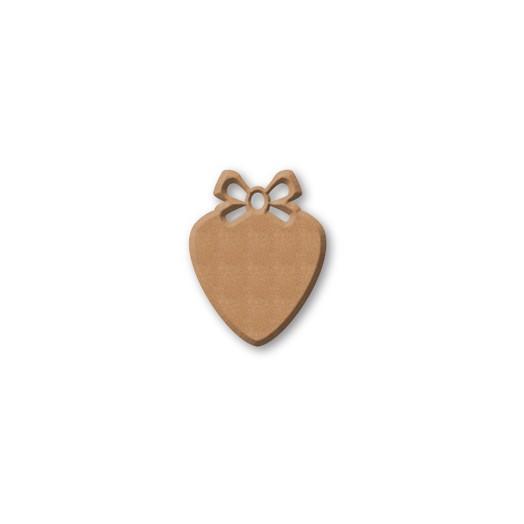 Καρδιά Mdf 10,5χ14cm , Stamperia
