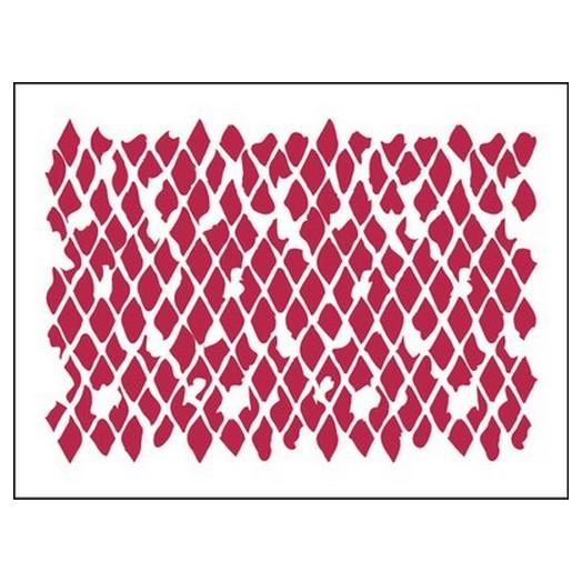 Stencil Texture net 20X15cm, Stamperia