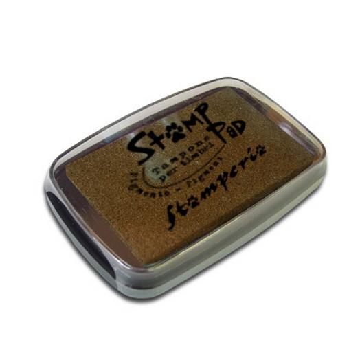 Μελάνι για σφραγίδες, 7,7x4,7 cm Stamperia, Brown