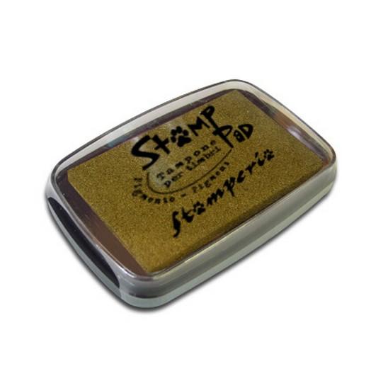 Μελάνι για σφραγίδες, 7,7x4,7 cm Stamperia, Gold