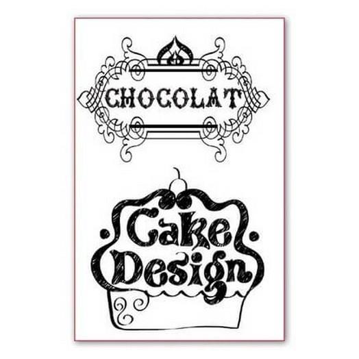 Σφραγίδα 11x7cm Cake Design, Stamperia