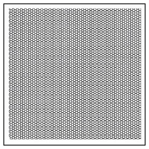 Σφραγίδα 10x10cm Honeycomb Texture, Stamperia
