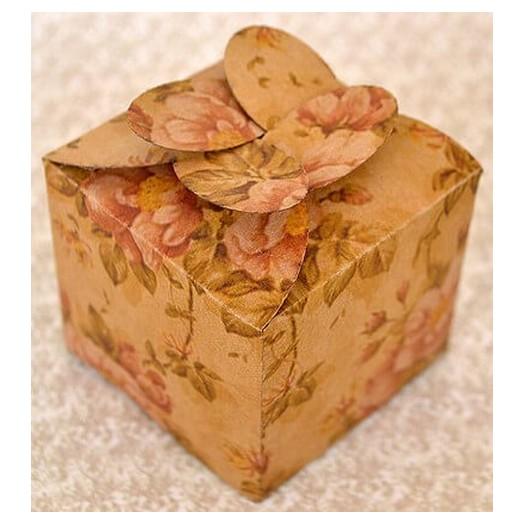 Κουτάκια Vintage Floral Petal Boxes Large, σετ 4 τεμ.