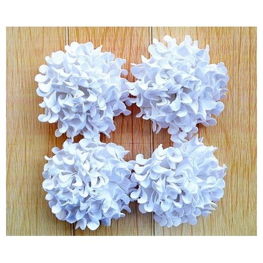 Λουλούδια Felicia White - σετ 4 τεμ.