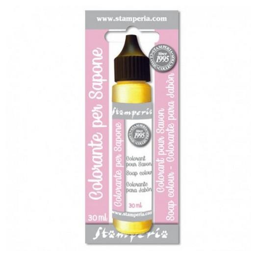 Χρώμα για σαπούνι 30ml - Stamperia - Κίτρινο