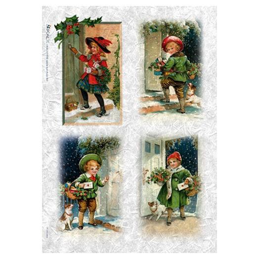 Ριζόχαρτο PaperD Χριστουγεννιάτικο 30x45cm - CHR0209