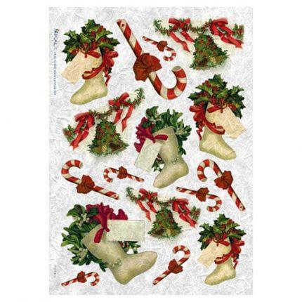 Ριζόχαρτο PaperD Χριστουγεννιάτικο 30x45cm - CHR0217